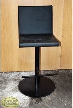 Bar Stool on Round Stand