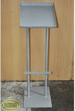 Brochure Display Stand Grey