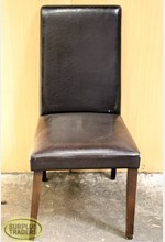 Dining Chair Padded Black