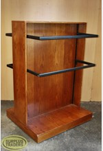 Wooden 2 Way Clothing Stand