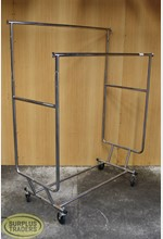 Double Rail Rack on Castors