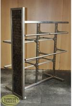 Two Way Clothing Stand Steel