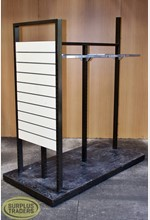 3 Way Clothing Stand Brown