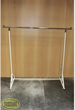 Single Rail Clothing Stand