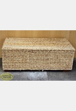 Cane Ottoman/Coffee Table
