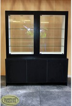 Display Case Double Black