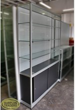 Glass Display Case 3 Level
