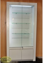 Tall Display Case with LIghts