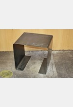 Metal Display Plinth Black