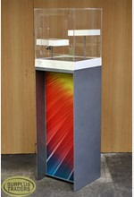 Plinth with Acrylic Case