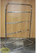 Prong Display Stand Chrome