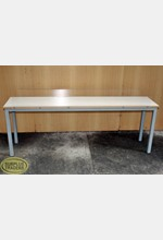 Display Table Long White/Grey