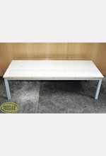 Display Table Low White/Grey