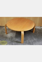 Low Round Table Wooden