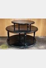 3 Tier Round Display Table