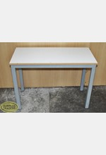 Display Table Small White/Grey