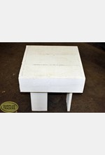 Display Table Small White