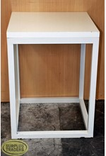 Display Table Square White