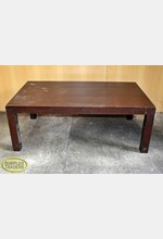 Wooden Display Table Brown