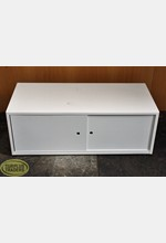 Metal 2 Door Cabinet White