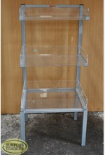 Three Tier Acrylic Dump Bin