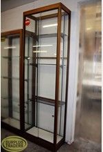 Glass Display Case Tall