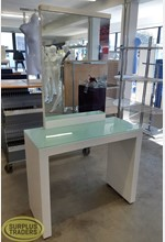 White Makeup Desk L1000mm