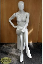 Mannequin Female Seated