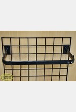 Mesh Side Hang Rail Black