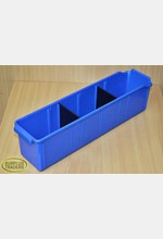 Parts Bin 100x415mm Blue