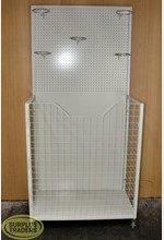 Pegboard Ball Display White