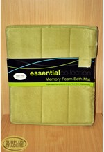 Memory Foam Bath Mat Green