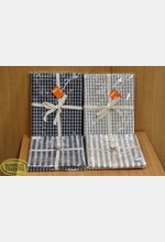 Tea Towel Twin Pack Asst