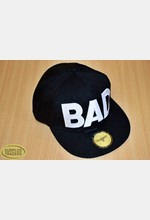 Baseball Cap Black / White