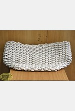 Knit Cotton Basket Cream