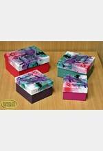 Floral Gift Boxes Set of 4
