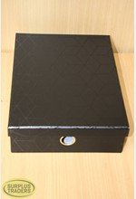 Storage Box Black A4