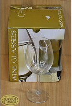 Wine Glasses Large Set of 4