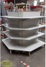 New Dairy Shelving 3 Bay Outer
