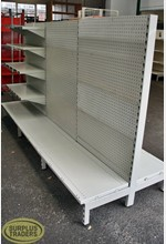 Dairy Shelving Double Sided