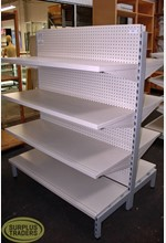Double Sided Dairy Shelving
