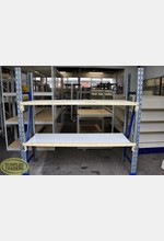 Dexion Shelving Unit 2 Level