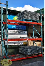 Mesh Shelving Unit 3 Tier