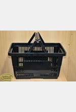 New Shopping Basket Black