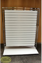 Slatwall Double Sided Stand