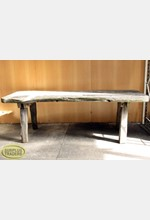 Large Outdoor Wooden Table