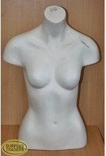 Female 1/2 Torso White
