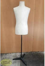 Torso Male Fabric on Stand