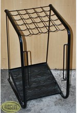 Umbrella Stand Black Metal