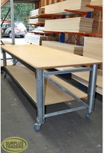 Work Bench on Castors 2700L